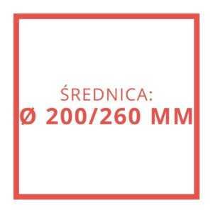 Ø 200/260 MM
