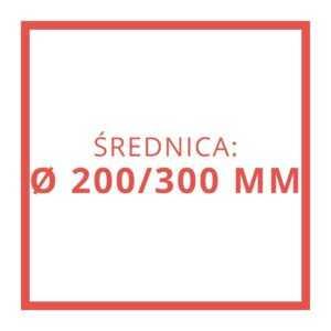 Ø 200/300 MM