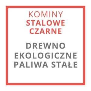 KOMINY STALOWE - CZARNE