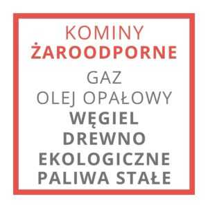 KOMINY ŻAROODPORNE