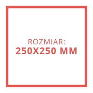 250x250 MM