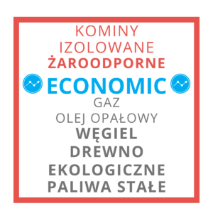 KOMINY ŻAROODPORNE ECONOMIC